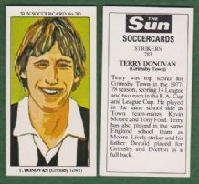 Grimsby Town Terry Donovan